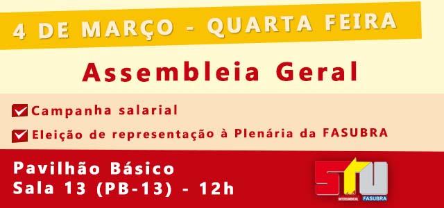 Banner assembleia geral